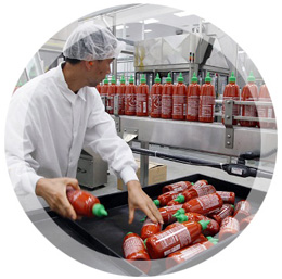 Production conditions consultant to ensure product quality